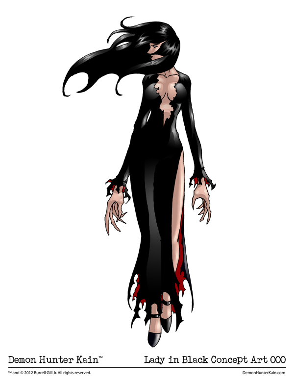 Filler Art – The Lady in Black Concept Art 000