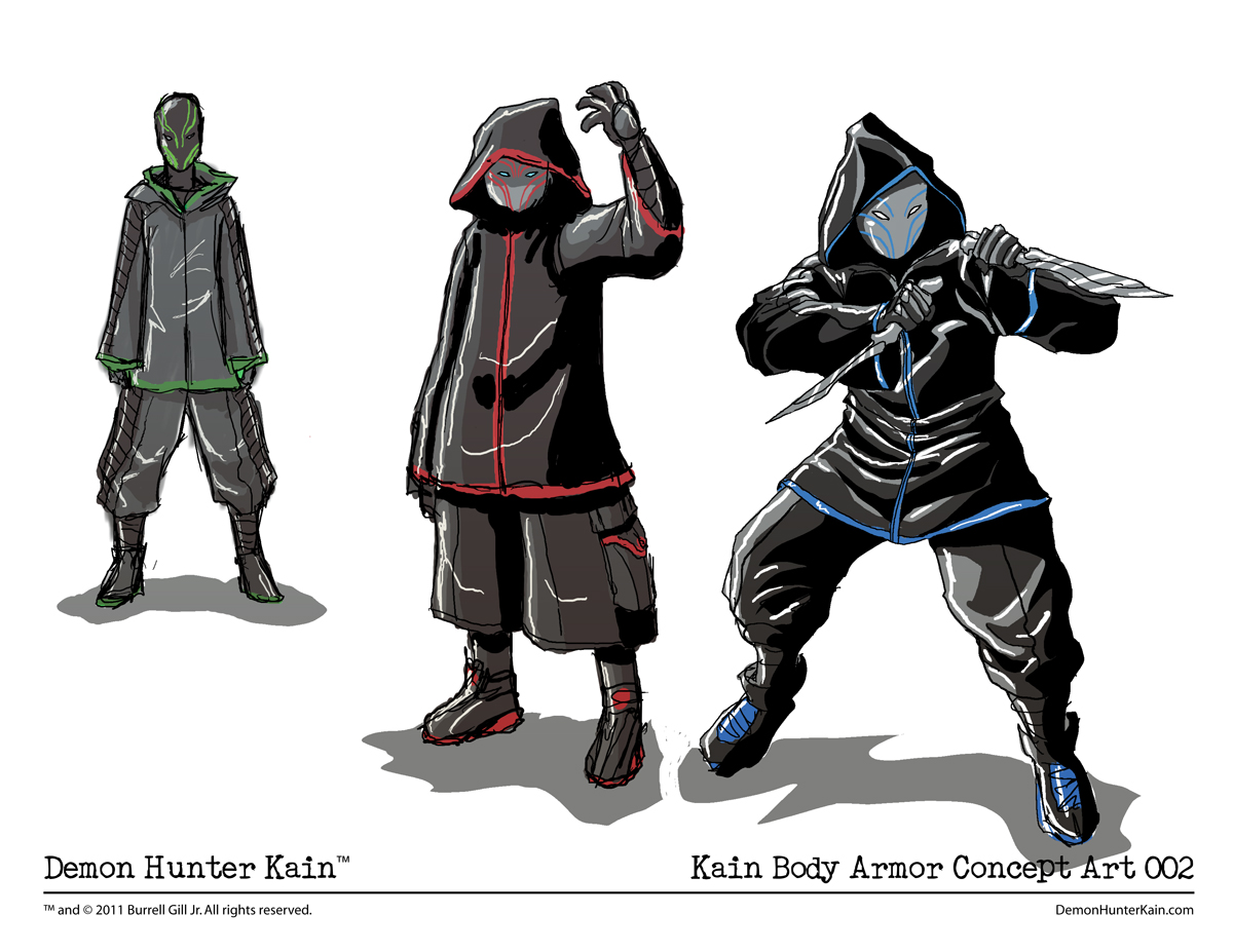 Filler Art – Kain Body Armor Concept Art 002