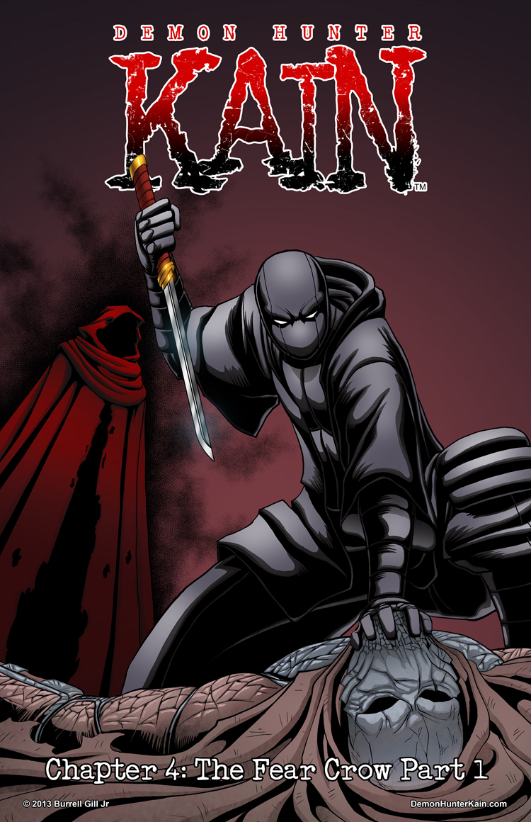 Demon Hunter Kain Chapter 4 Cover Page