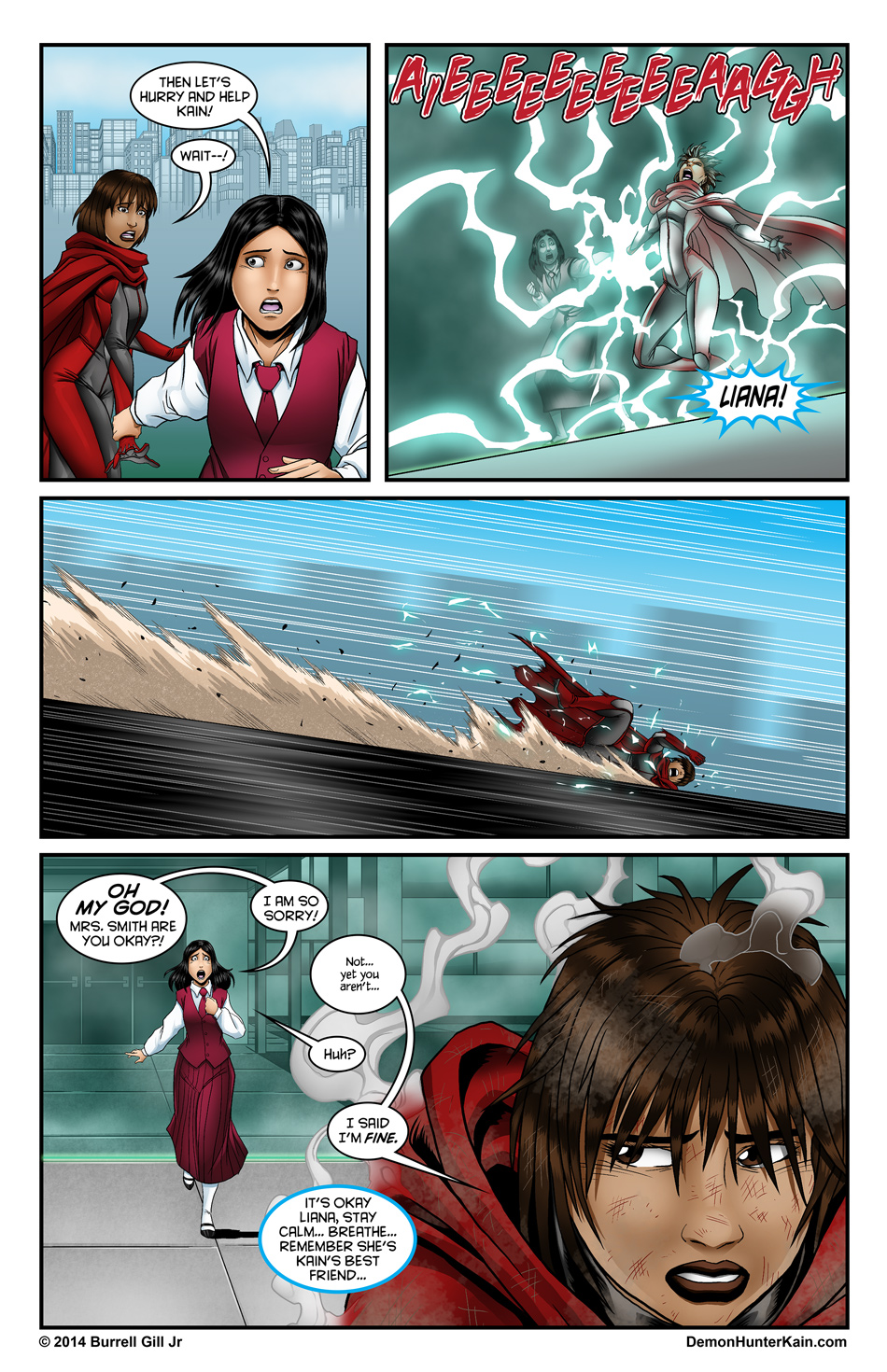 Demon Hunter Kain Chapter 5 Page 11