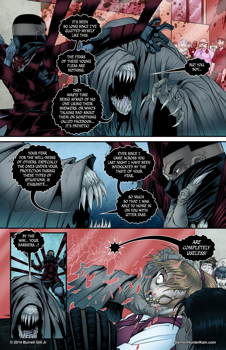 Demon Hunter Kain Chapter 5 Page 15