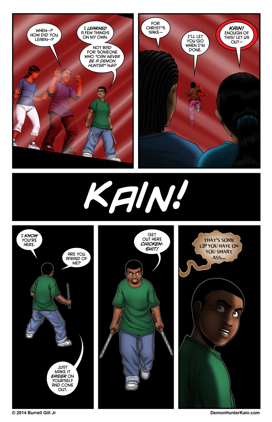 Demon Hunter Kain Chapter 5 Page 18