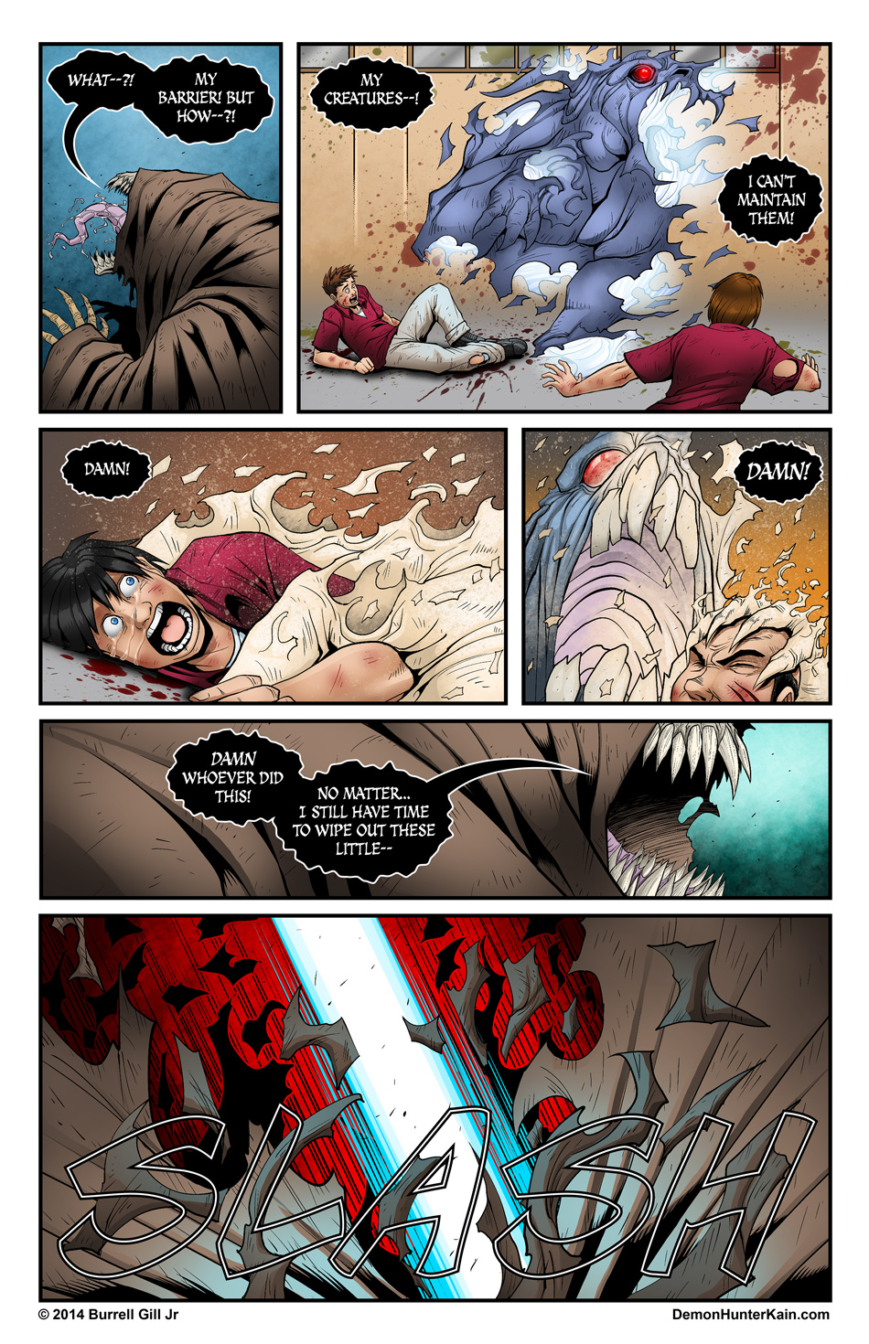 Demon Hunter Kain Chapter 5 Page 22