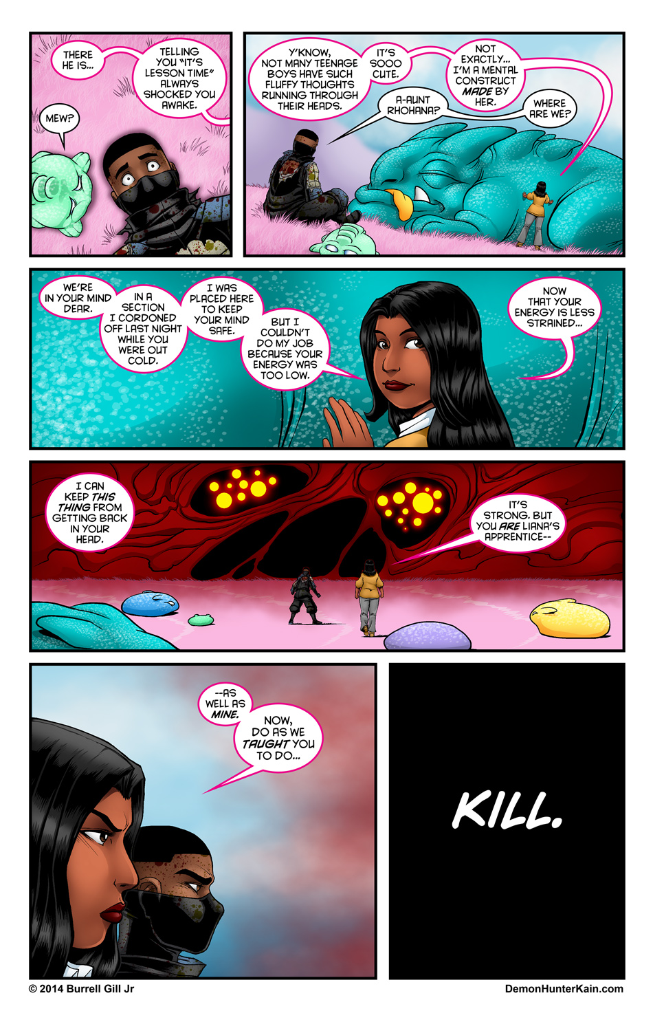 Demon Hunter Kain Chapter 5 Page 30