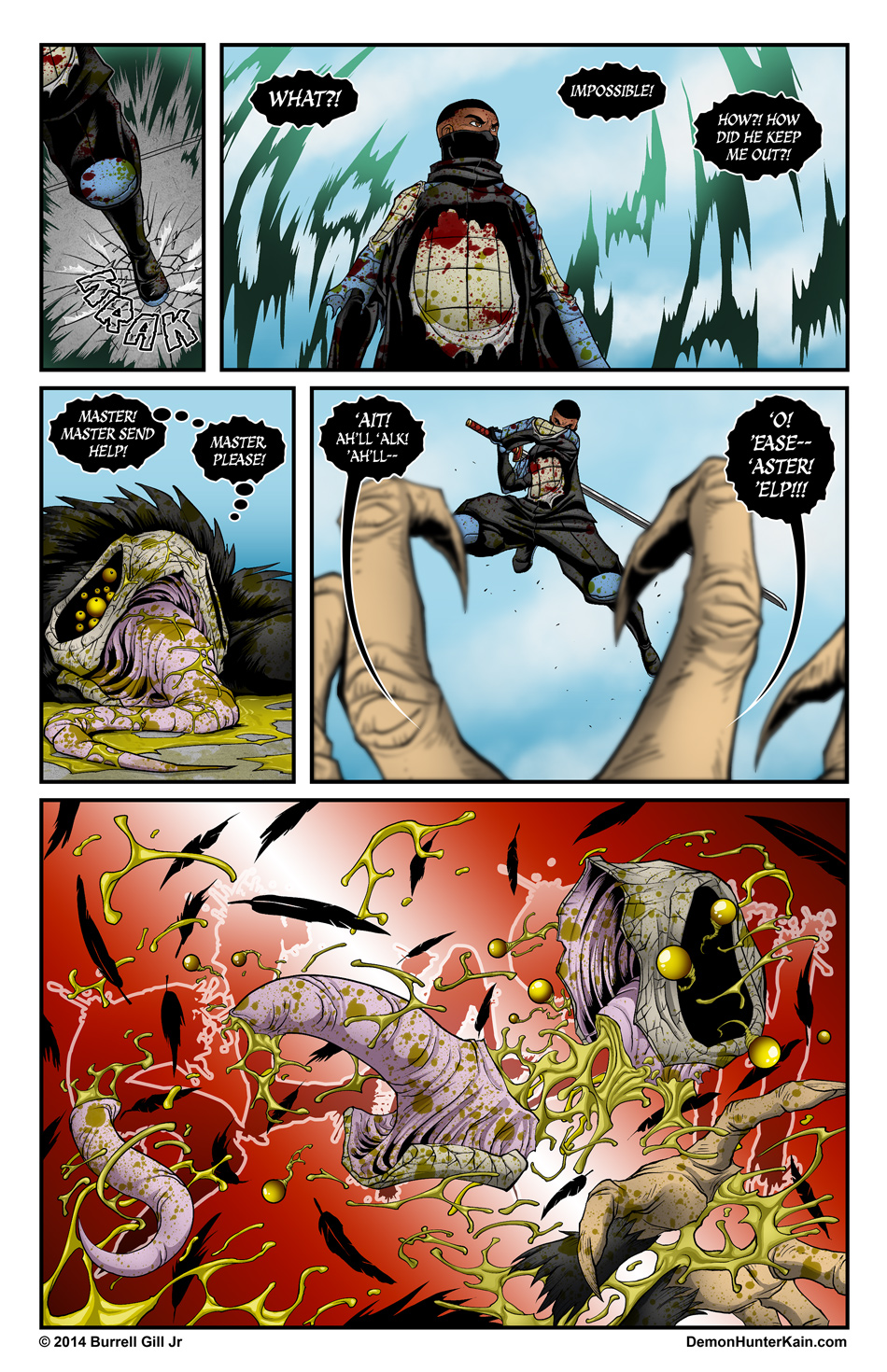 Demon Hunter Kain Chapter 5 Page 31