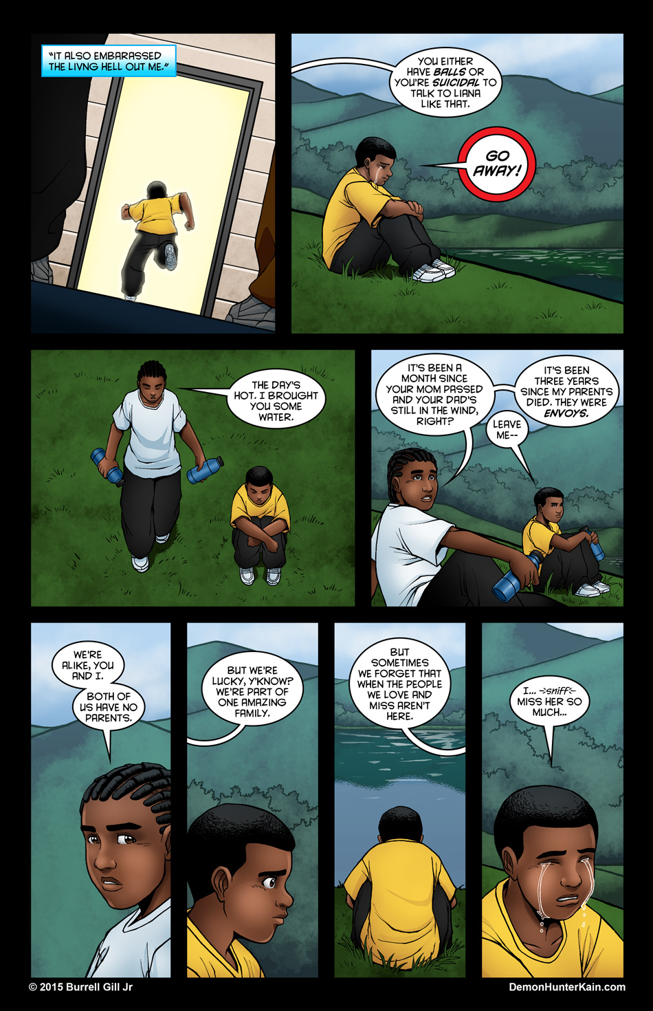 Demon Hunter Kain Chapter 6 Page 23