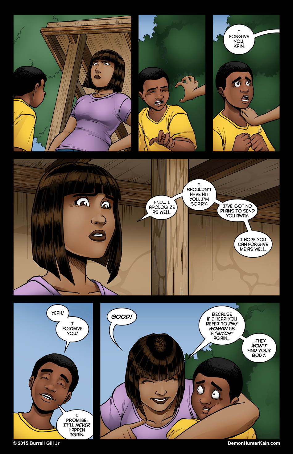 Demon Hunter Kain Chapter 6 Page 28
