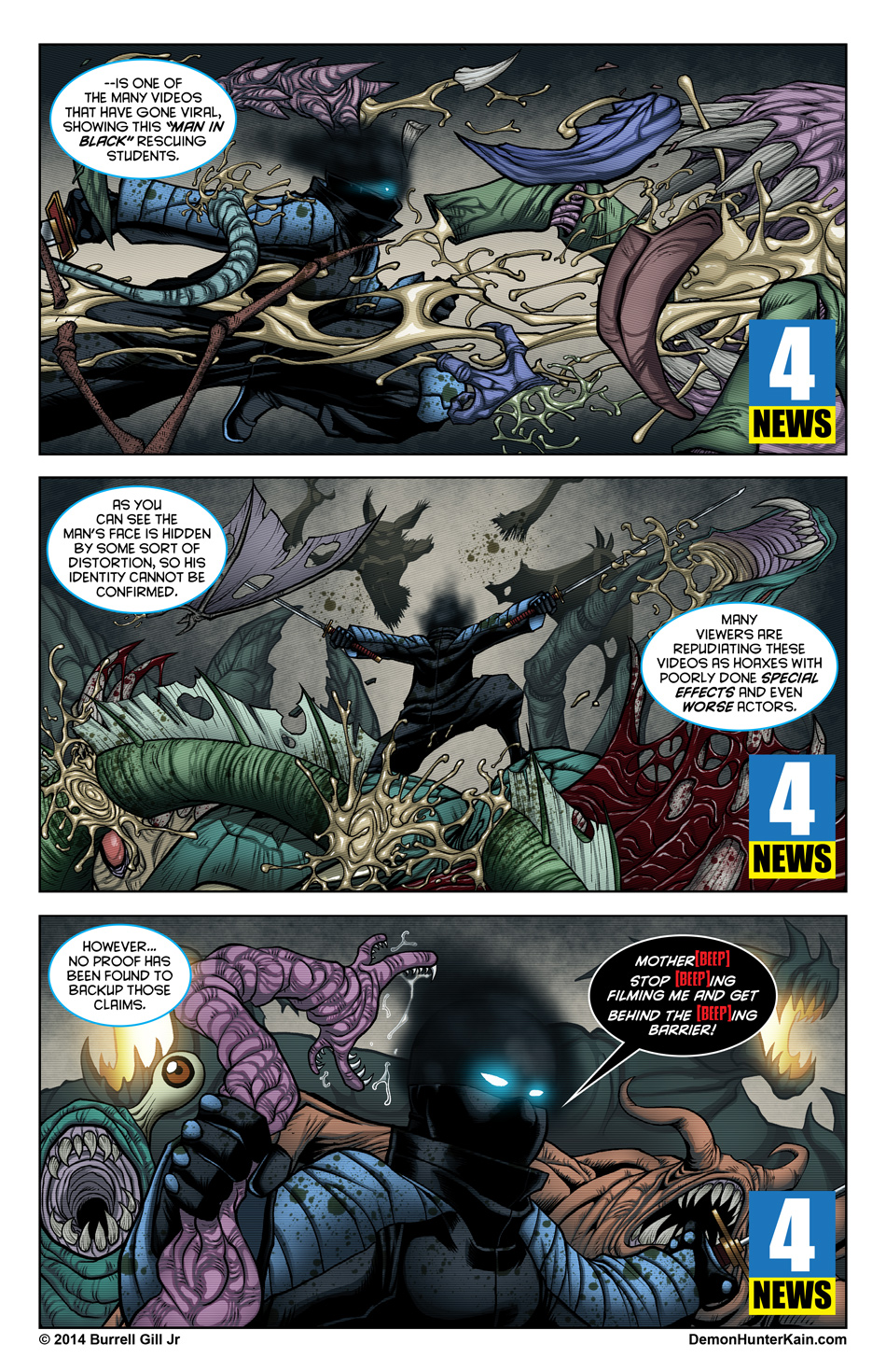 Demon Hunter Kain Chapter 6 Page 5