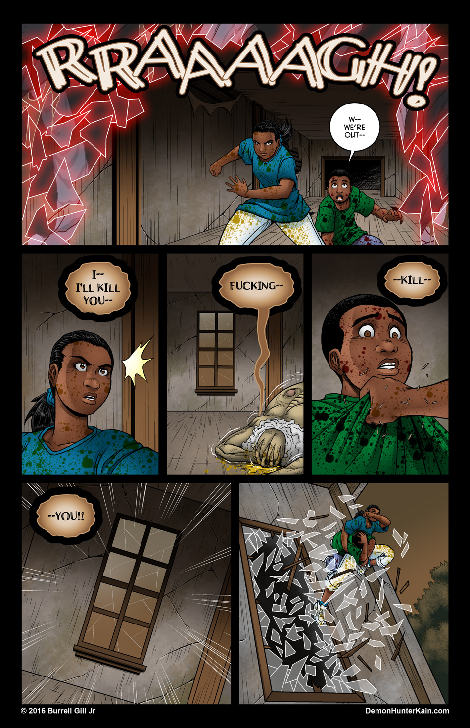 Demon Hunter Kain Chapter 6: The Boy Called Kain, Page 72.